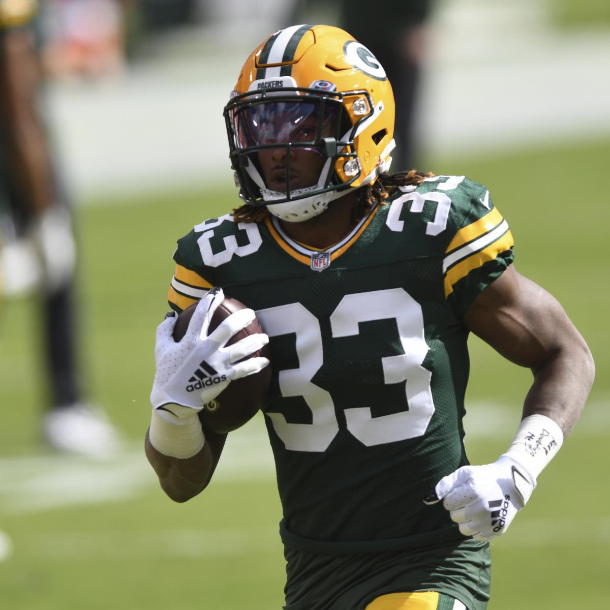 Packers' Aaron Jones to Omit 2nd Straight Game vs. Vikings with Foot Hurt
